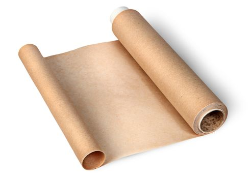 Parchment paper for baking unwound from two sides