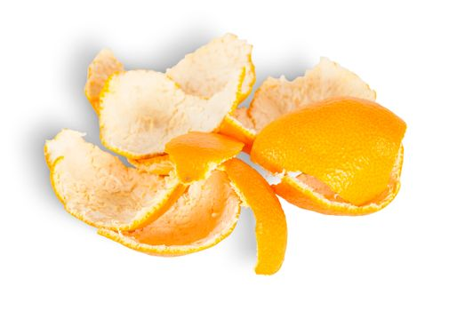 Pile Of Tangerine Peel