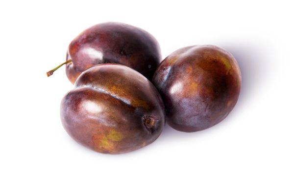 Three violet plums