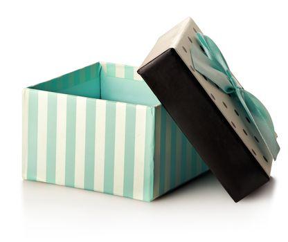 Green gift box