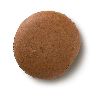 One chokolate macaron