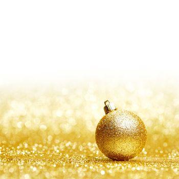 Glitter christmas ball