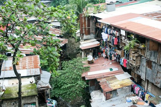 Everyday life of filipinos in Cebu city Philippines