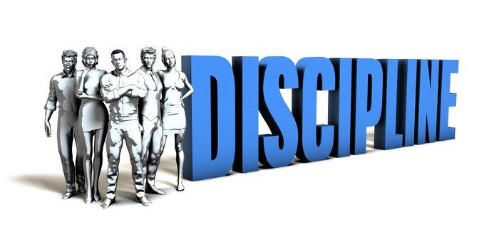 Discipline Business Concept