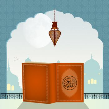 Quran Book in the Mosque