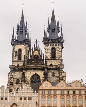 Prague, sunny day