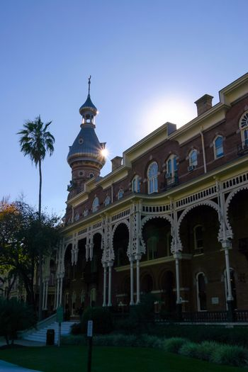 Moorish architecture of the University of Tampa, Florida