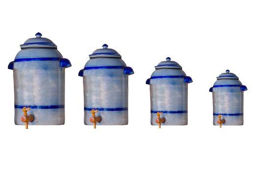 4 Earthenware pot as vinegar pot