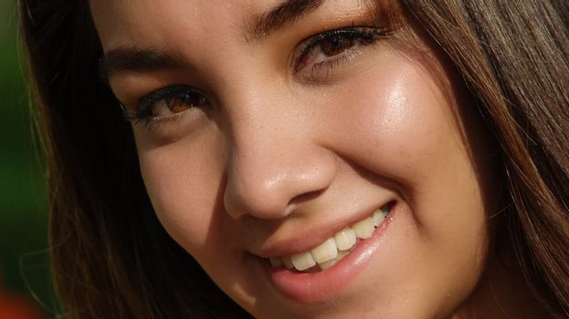 Beautiful Youthful Teenage Female