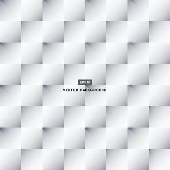 Abstract background black and white squares pattern vector