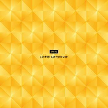 Abstract background modern luxury gold square pattern vector