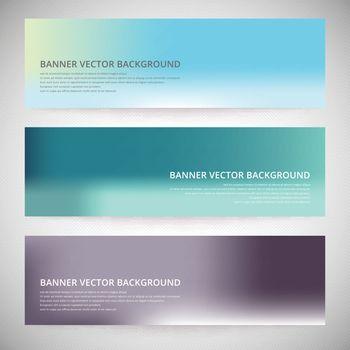 Flyer template header design. Banner design background collection vector