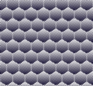abstract halftone hexagon pattern seamless background vector