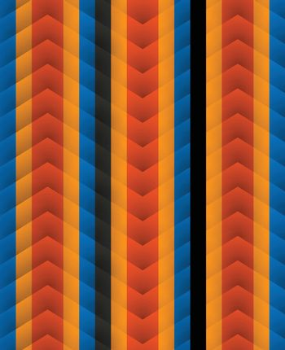 Chevron pattern seamless vector arrows geometric design colorful aqua blue red yellow black