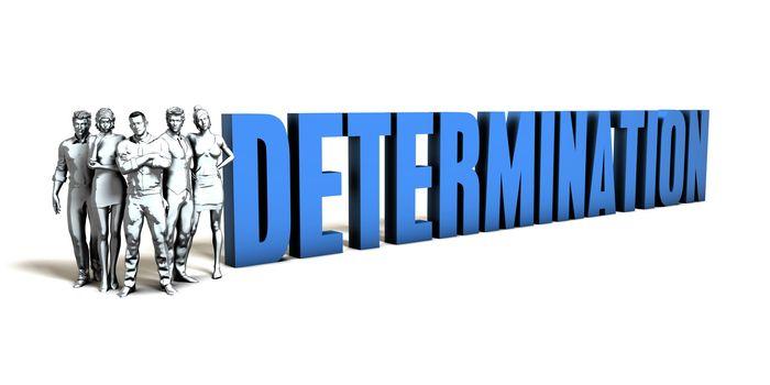 Determination Business Concept
