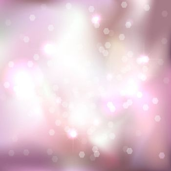 Bright light pink background. Festive design. New Year, Christmas, wedding, event style