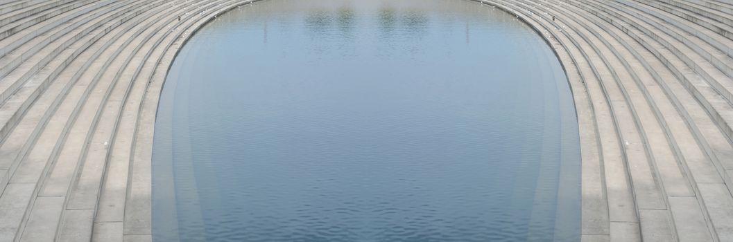 Rostrum , levels of concrete under water