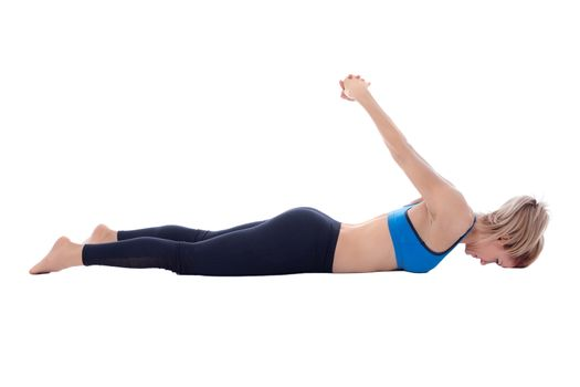 Stretching of pectoral and deltoid muscle
