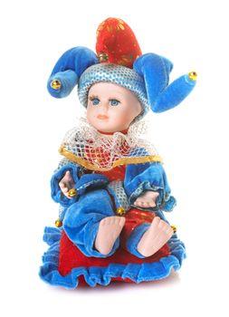 porcelain doll in studio
