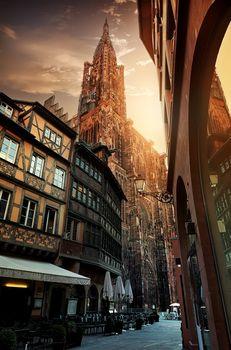 Sunrise in Strasbourg