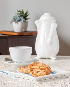 Salted Caramel Shortbread Portrait