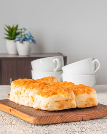 Cheese Tea Biscuits
