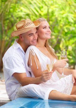 Romantic honeymoon vacation