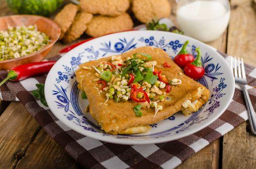 Thai Breakfast Omelette