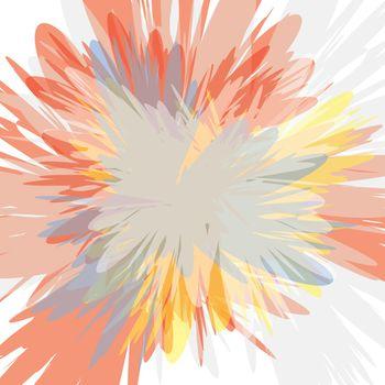 colorful supernova blast background