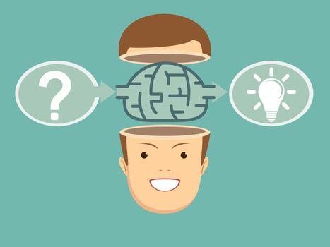 Brainstorm concept idea.