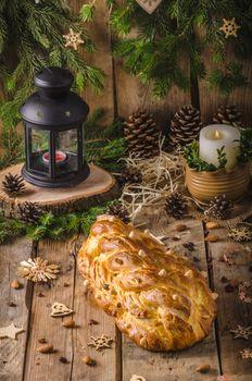 Traditional Czech Christmas cake