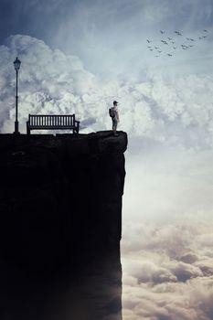 between the skies