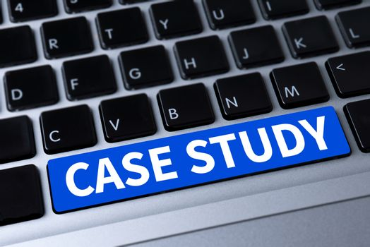 CASE STUDY  a message on keyboard