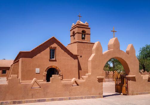 Church in San Pedro de Atacama, Chile