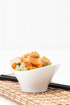 General Tao Spicy Chicken Portrait