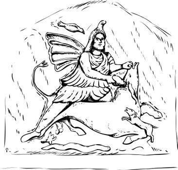 Forensic reconstruction of Mithras Tauroctony