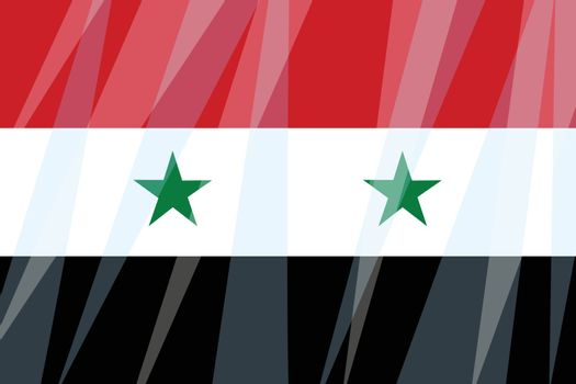 State flag of Syria