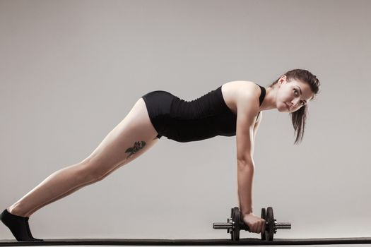 push ups with weights