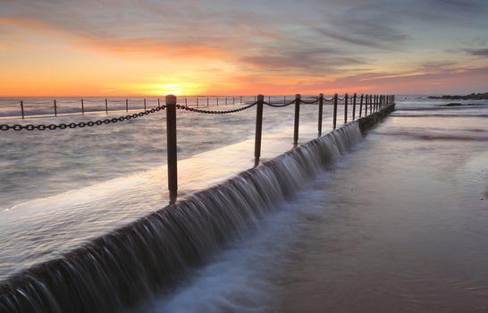 Newport Pool sunrise