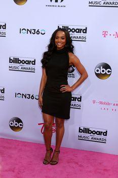 Rachel Lindsay at the 2017 Billboard Awards Arrivals, T-Mobile Arena, Las Vegas, NV 05-21-17