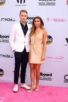 Cameron Fuller, Lauren Elizabeth at the 2017 Billboard Awards Arrivals, T-Mobile Arena, Las Vegas, NV 05-21-17