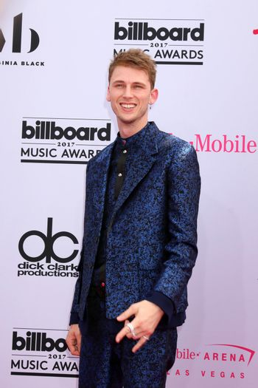 Machine Gun Kelly at the 2017 Billboard Awards Arrivals, T-Mobile Arena, Las Vegas, NV 05-21-17