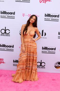Nicole Scherzinger at the 2017 Billboard Awards Arrivals, T-Mobile Arena, Las Vegas, NV 05-21-17