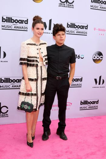 Maia Mitchell, Rudy Mancuso at the 2017 Billboard Awards Arrivals, T-Mobile Arena, Las Vegas, NV 05-21-17