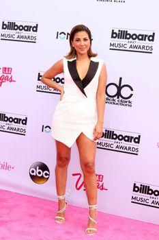 Liz Hernandez at the 2017 Billboard Awards Arrivals, T-Mobile Arena, Las Vegas, NV 05-21-17