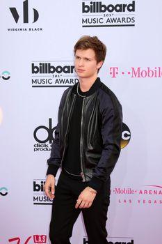 Ansel Elgort at the 2017 Billboard Awards Arrivals, T-Mobile Arena, Las Vegas, NV 05-21-17