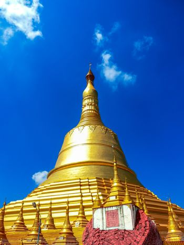 Shwemawdaw Pagoda in Myanmar.