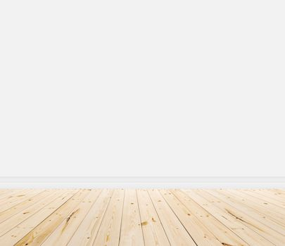 timber flooring with wall