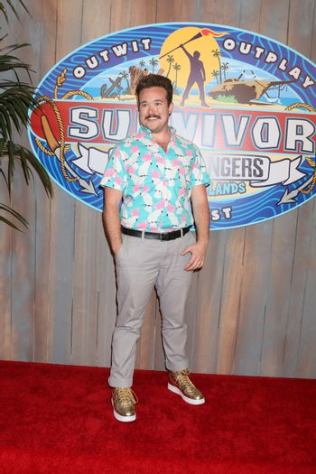 "Zeke Smith at the ""Survivor: Game Changers - Mamanuca Islands"" Finale, CBS Studio Center, Studio City, CA 05-24-17"