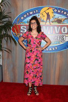 "Aubry Bracco at the ""Survivor: Game Changers - Mamanuca Islands"" Finale, CBS Studio Center, Studio City, CA 05-24-17"